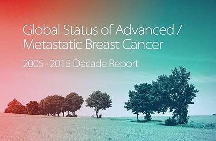 Global status of Advaced / Metastatic Breast Cancer 2005-2015 Decade report